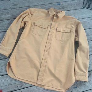 Vintage LL Bean Chamois Shirt L